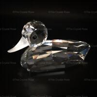 RARE Retired Swarovski Crystal Mallard Duck Large V2 012723 Mint Boxed