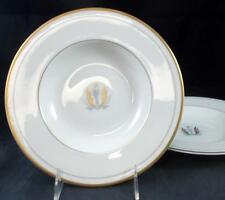 Syracuse GOVERNOR CLINTON 2 Rim Soup Bowls LIGHT USE
