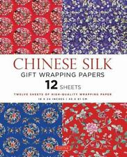 Chinese Silk Gift Wrapping Papers : 12 Sheets (2015, Paperback)