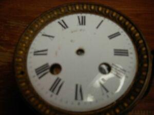 ANTIQUE PORCELAIN FRENCH CLOCK FACE