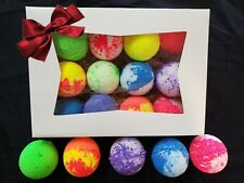 Premium Quality Fizzy Bath Bombs 12 Or Pick A Bigger Lot Size Gift Box Included