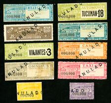 South America Scarce Cardboard Specimen Stamp Collection