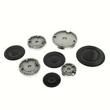 UNIVERSAL REPLACEMENT GAS HOB BURNER AND CAP CROWN SET  - HS19057