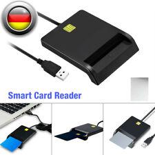 USB Chipkartenleser SIM Kartenleser Personalausweis Lesegerät SmartCard Reader .