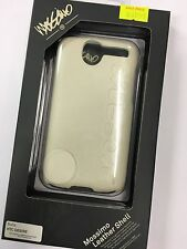 HTC Desire Mossimo Leather Shell Case in White LM-LSHTCDWH Brand New Original.