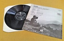 """"""" MORE """" PINK FLOYD SUPERB UK HIGH QUALITY EARLY 70'S VINYL EAST FACING SLEEVE"""