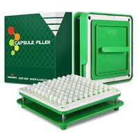 Wananfu Capsule Filler Filling Machine 000 for Empty Capsules Size 000