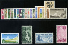 New Zealand 1960 QEII Definitive set complete MLH. SG 781-802.