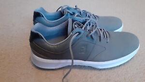 Footjoy Contour Grey Waterproof Golf Shoes UK 8.5M 54129 *Brand New*