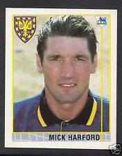 Merlin 1996 Football Sticker - No 231 - Mick Harford - Wimbledon