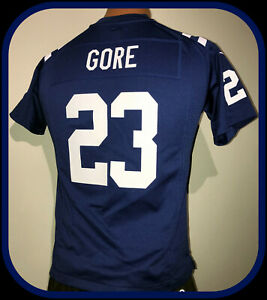 INDIANAPOLIS COLTS FRANK GORE NIKE ON FIELD REPLICA JERSEY YOUTH MEDIUM NWOT