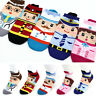 5 Pairs Socks Women Boy Girl Fashion Funny Socks Cute Profession Character Socks