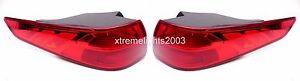 FITS KIA OPTIMA 2014-2015 LEFT RIGHT TAILLIGHTS TAIL LIGHTS REAR LAMPS PAIR