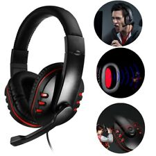 3.5mm Gaming Headset Stereo Surround Headphone Wired w/Mic For PS4 Xbox ONE CA Z