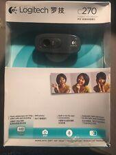 Logitech C260 Web Cam. NEW
