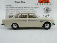 Brekina 29412 Volvo 144 Limousine (1972) in weiß 1:87/H0 NEU/OVP