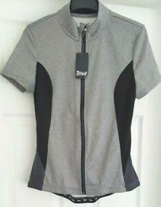 *NEW* Crivit - Womens/Ladies Short Sleeve Cycle/Cycling Jersey/Shirt - UK 12/14