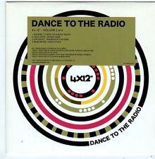 "(FI150) Dance to the Radio, 4x12"", Vol 2 of 4 - 2009 DJ CD"