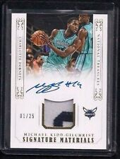 Michael Kidd-Gilchrist National Treasures GOLD Patch Auto #1/25! 1/1? Go Hornets