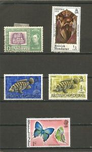 Belize Different stamps