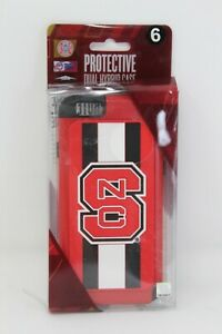 Forever Collectibles NC State University iPhone 6 Hardshell Duel Hybrid Case NIB