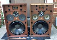 Vintage Goodman Maximus 7 Floor Speakers - Extremely Rare Model