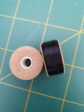Size D Black Nymo Beading Thread (Two Bobbins)