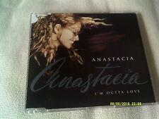 ANASTACIA - I'M OUTTA LOVE - UK CD SINGLE