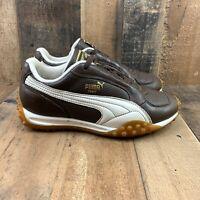 PUMA CDT-0804 Women's Brown White Driving Sneaker Shoe Size US 5
