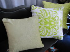 Beautiful FILIGREE Melrose Apple Green Cushion Cover SALE SALE