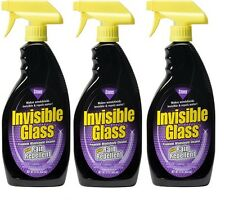 Stoner 92184 Invisible Glass Cleaner With Rain Repellent - 22 oz. (3 Pack)