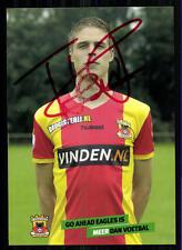 Unbekannt Go Ahead Eagles Autogrammkarte Original Signiert+A 87999