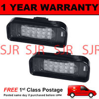2X FOR MERCEDES S CLASS W220 1999-2005 18 WHITE LED NUMBER PLATE LAMPS