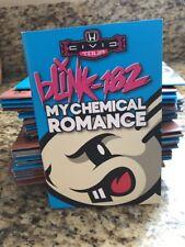blink 182 My Chemical Romance Honda Civic Tour Program