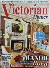 Victorian Homes Summer 2017 Manor Born Add Castle Elegance Home FREE SHIPPING sb