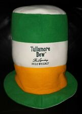 RARE COLLECTABLE TULLAMORE DEW IRISH WHISKEY TOP HAT STYLE GREAT USED CONDITION