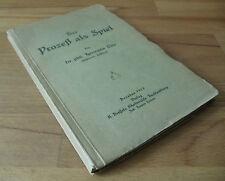 Jura, el proceso como un juego, dr.phil.h. Otto, Dresde, 1918, gerichtsprozeß