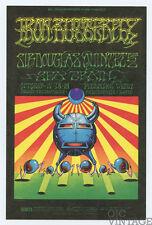 Bill Graham 141 Postcard Iron Butterfly Sir Douglas Quintet 1968 Oct 17