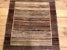 Wunderschöner Orientteppich Gabbeh Loribaf (76X 75 CM) Perserteppich Top Neu
