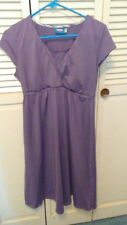 Majamas Maternity/Nursing Nightgown Purple Size L