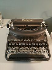 Vintage Remington Rand Noiseless Deluxe Typewriter w. Case Great Condition