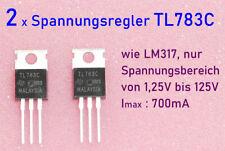 2 x TL783C HV- Spannungsregler wie LM317 nur 1,25 bis 125V | 0,7A  Vers. aus DE
