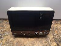 """Vintage 9"""" RCA TV Radio Combo Model AP108Y"""