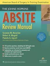 The Johns Hopkins ABSITE Review Manual (American Board of Surgery In-Training Ex