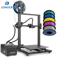 Longer LK1 3D Printer 300x300x400mm Large Size DIY Kit with 1.75mm PLA Filament