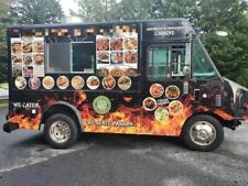 18.5' Diesel Gmc Step Van Kitchen Food Truck with Pro Fire Suppression System fo