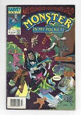 Monster In My Pocket #2 Harvey 1991 Punisher Cover Solid Lower Grade