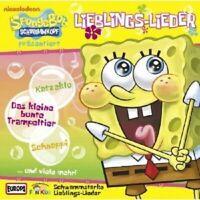 "FUN KIDS ""SPONGE BOB PRÄS. LIEBLINGSLIEDER"" CD NEW"