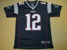 Tom Brady New England Patriots Nike On Field Jersey Youth Medium