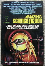 AMAZING SCIENCE FICTION Jan 1976 The Computer Cried Charge by George R.R. Martin